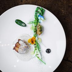 Stunning dish by @bryanfrancisco1 at Tree-Top restaurant, Denmark. Photo by @raisfoto ⭐️⭐️⭐️ ⭐️ create a culinary page on Cookniche and share your photos, recipes, and/or blogs with the culinary world. Direct link in profile.