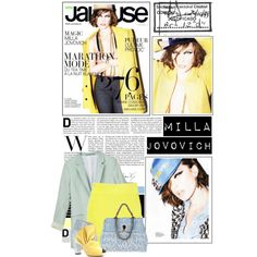 Milla Jovovich, created by e-angermayer on Polyvore