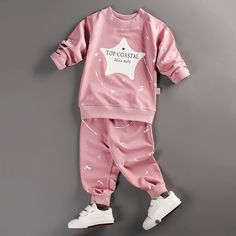 2017 spring baby boy girl clothes Long sleeve Top + pants sport suit baby  clothing set newborn infant clothing - Kid Shop Global - Kids   Baby Shop  Online ... 06168b532753