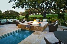 Private - mediterranean - pool - dallas - Pool Environments, Inc.