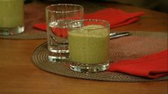 the chew   Recipe   Daphne Oz's Chocolate Mint Chip Smoothie