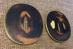 Daisho tsuba set from the collection of David W. Easley...for sale $600