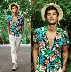 Awesome Aloha style modeled by Vini Uehara. I can't find the print anywhere online. I should do artwork of this style!