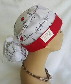 Check out this item in my Etsy shop https://www.etsy.com/listing/273499388/scrub-hat-scrub-hat-with-ponytail-and