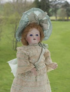 """16"""" (40 cm) Antique French Bebe Gigoteur  Doll by Jules Steiner"""