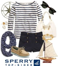 """Set Sail with Sperry Top-Sider"" by anniepro on Polyvore"