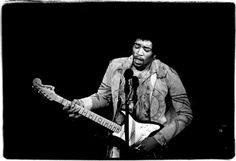 Jimi Hendrix at Fillmore East, December 31, 1969 by Amalie R. Rothschild