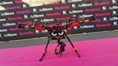 DJI 1000 - on the Pink Carpet