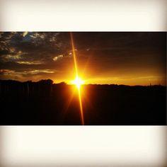 When the sun goes down #tramonto Ph. Jessica Vancini
