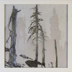 """Saatchi Online Artist: Richard Barlow; Other, Mixed Media """"Mount Eerie"""""""