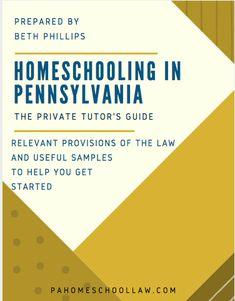 Private Tutor Guide - PA Homeschool Law
