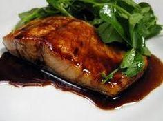 Balsamic Glazed Salmon (South Beach Phase 1 recipes.sparkpeop...