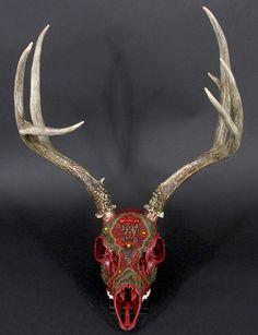 """""""Mystical Deer"""" by Suzanne Schmaltz."""