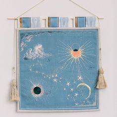 Bespoke Embroidery (@acru_) • Photos et vidéos Instagram Decoration, Cosmic, Embroidery, Stitch, Happy, Artist, Projects, Bespoke, Instagram
