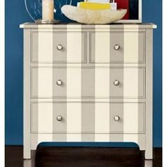 Wooden Hand Painted Bedside Table, Bedroom Furniture