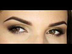 Makijaż Ślubny - Przydymione Oko/ Smokey Eye - YouTube