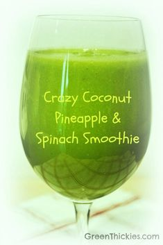 Fantastic Pic Crazy Coconut Pineapple and Spinach Smoothie (Green Smoothie) Con. Fantastic Pic Crazy Coconut Pineapple and Spinach Smoothie (Green Smoothie) Concepts Vegetable S Vegetable Smoothie Recipes, Green Smoothie Recipes, Juice Smoothie, Smoothie Drinks, Green Smoothies, Vanilla Smoothie, Smoothie Detox, Juice Drinks, Fruit Drinks