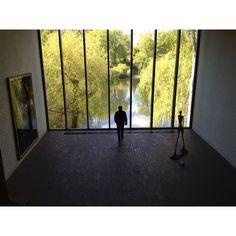 Lousiana Museum of Modern Art in Humlebæk Denmark.