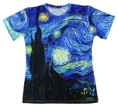 Now available to purchase!: Van Gogh Starry N... Check it out here! http://jerseychamps.com/products/van-gogh-starry-night-shirt?utm_campaign=social_autopilot&utm_source=pin&utm_medium=pin