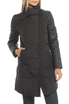 Dex Combo Puffer Down Jacket in Black - Beyond the Rack