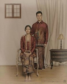 classic javanese prewedding photo by . makeup by hair by styled ny