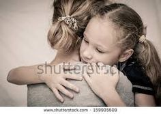 Image result for anime mom and daughter hugging