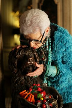"""ADVANCED STYLE: Iris Apfel: """"More is more and less is a bore."""""""