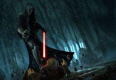 Between Dark and Light - Fantasy Flight Games Star Wars Sith, Star Wars Rpg, Darth Bane, Jedi Knight, Far Away, Dark Side, Light In The Dark, Sith Lord, Righteousness
