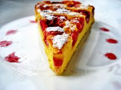 Clafoutis cu cirese Romanian Desserts, French Toast, Blog, Breakfast, Morning Coffee, Blogging