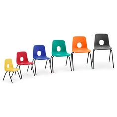 Series E Chair 2 brown charcoal blue black emerald green jade acid orange red sapphire yellow. Hille is in Ebbw Vale