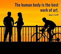 The human body is the best art work