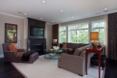 Aldine Avenue - traditional - living room - chicago - by Michael Abrams Limited
