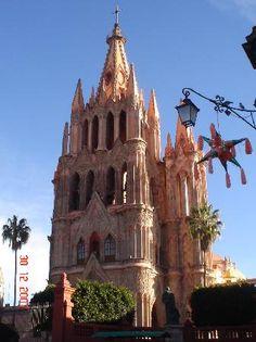Beautiful and magical San Miguel de Allende Mexico.