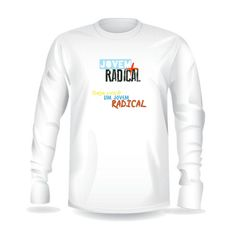 Casaco Moletom Radical BRANCO 2.0 R$ 50,00