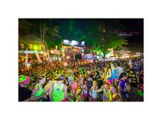one of the best parties, ever - koh phangan, thailand