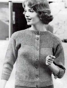 5bde05706 Vintage Casual Quick Hand-Knits by Columbia Minerva Women s Hand Knit  Sweater Pattern Book