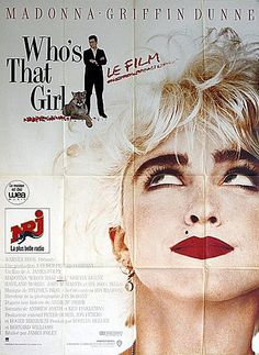 Who's That Girl  1987 Original French Grande Movie Poster by Vintage Movie Posters, via Flickr
