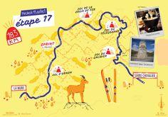 La dix-septième étape du Tour de France par deux degrés et Mélanie Béguier. Movie Posters, Film Poster, Billboard, Film Posters
