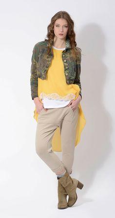 #military #jacket #camouflage #print #application #danielacolombo