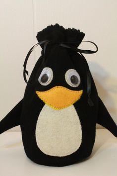 Derpy Penguin Bags