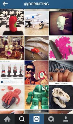 Instagramで世界中の3Dプリント作品を探そう!(2015/1/9) https://modelabo.itmedia.co.jp/info/info_blog150109/