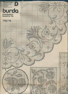 MALLA A GANCHILLO E 745 - Francisca Elvira Holzmann - Λευκώματα Iστού Picasa