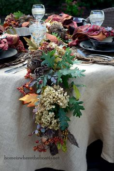 How to enhance your fall garland to make it fuller and give it more impact!