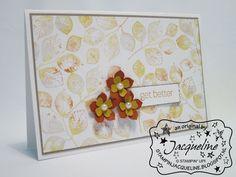 Stampin' Up! by Stampin Jacqueline: 3D-zondag met bijpassende kaart
