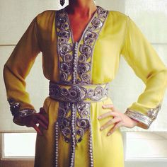 Houda Bensaad Couture - Gorgeous Caftan with beautiful details