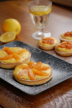 tartelettes estivales citron lemon orange blood // summer tartelettes on http://weightandmeasures.wordpress.com