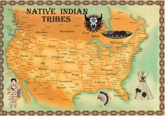 Map of Native American Us History | 13 January 2014; Tribal Visitors | Frisco Native American Museum ...