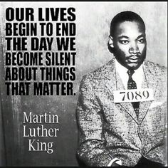Our lives... Martin Luther King Jr