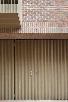 Architecture Modern design : Brentford Lock West by Duggan Morris Metal Cladding, Metal Facade, Brick Facade, Brick Walls, Detail Architecture, Facade Architecture, Residential Architecture, Chinese Architecture, Futuristic Architecture