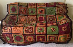 Colo9r Inspiration from Ravelry: jomanda's 2013 Crochet Block-A-Month CAL